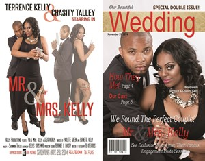 Terrence And Chasity Wedding Magazine